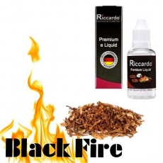 Riccardo e-Liquid Black Fire - 10ml - 10mg/ml