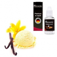 Riccardo e-Liquid Vanille - Sahne - 10ml - 0mg/ml