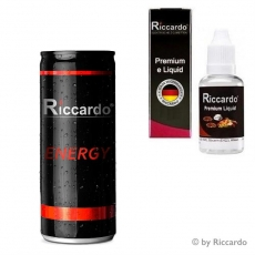 Riccardo e-Liquid Energy - 10ml - 5mg/ml