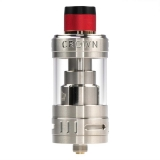 Uwell Crown 3 Clearomizer - 24,5 mm - 5,0 ml - silber