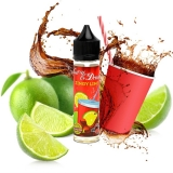 E-Liquid Big Mouth - Call Us Or Drink Zingy Lime - 50 ml + 20 ml Booster